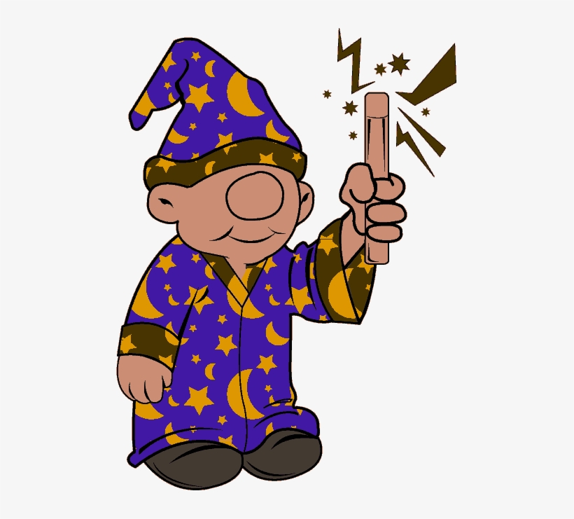 Cute Little Wizard - Clip Art Young Wizard, transparent png #233023