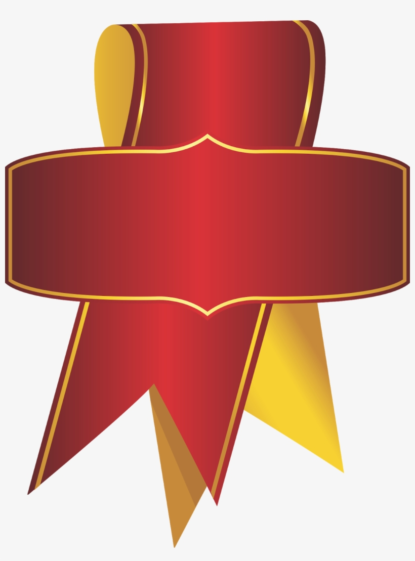 Beautiful Ribbon Label, Ribbon Label, Round Ribbon, - Ribbon, transparent png #233269