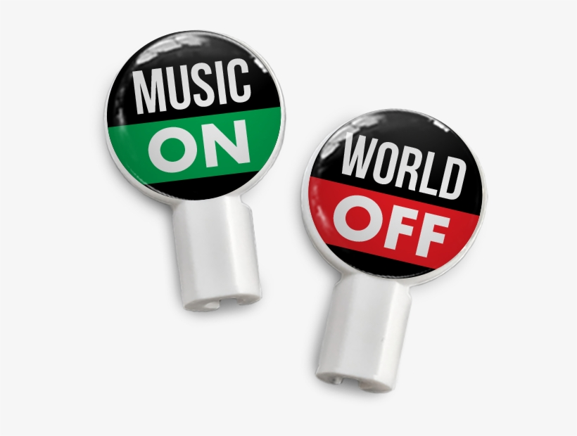 Pair Of Apple Earbud Covers - Music, transparent png #233309