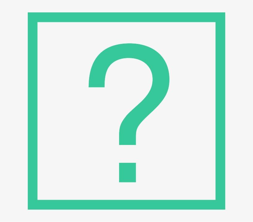 Question, Mark, Symbol - Question Mark Icon Square, transparent png #233355