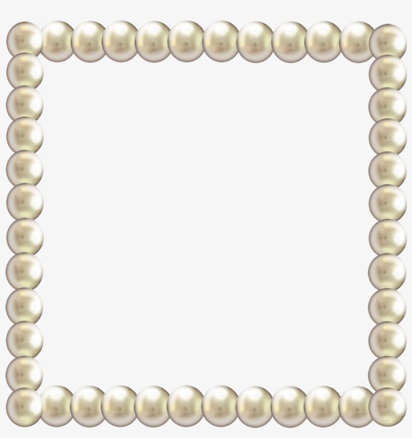 Pearl Border Png - Pearl Border Clip Art, transparent png #233733
