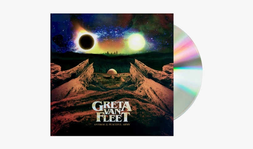 Anthem Of The Peaceful Army Cd Digital Album Greta - Greta Van Fleet Anthem Of The Peaceful Army, transparent png #233944
