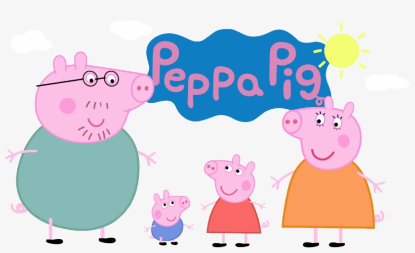 Peppa Pig Family Peppa Pig Family Gif Free Transparent Png Download Pngkey