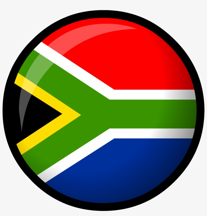 South Africa Flag - South Africa Flag Png, transparent png #234985
