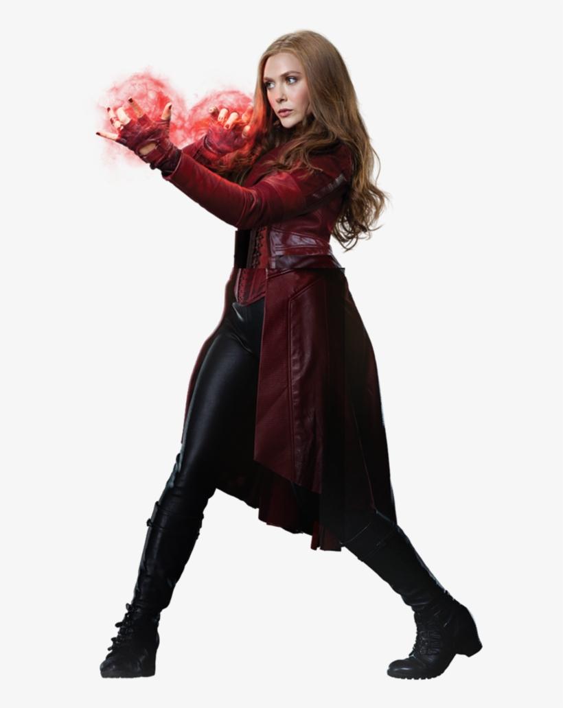 Captain America Civil War Scarlet Witch Png, transparent png #235122