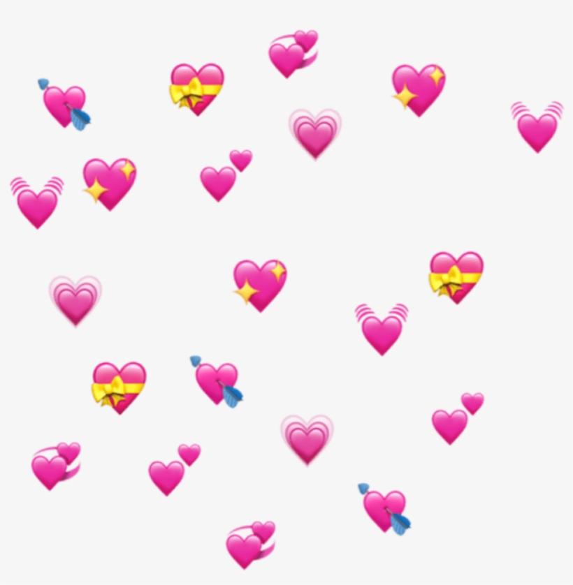 Corazones And Png Image - Heart Emoji Meme Transparent, transparent png #235142