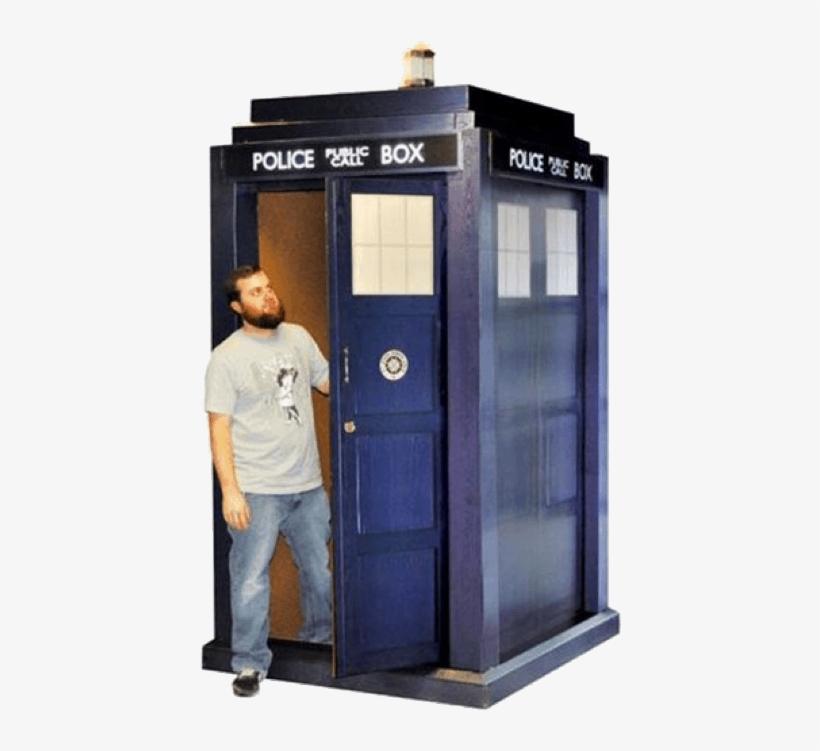 Tardis - Doctor Who Tardis Cardboard, transparent png #235510
