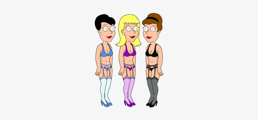 Common Peter Griffin Sexy Party Girls Family Guy The - Sexy Girls From Family Guy, transparent png #235611