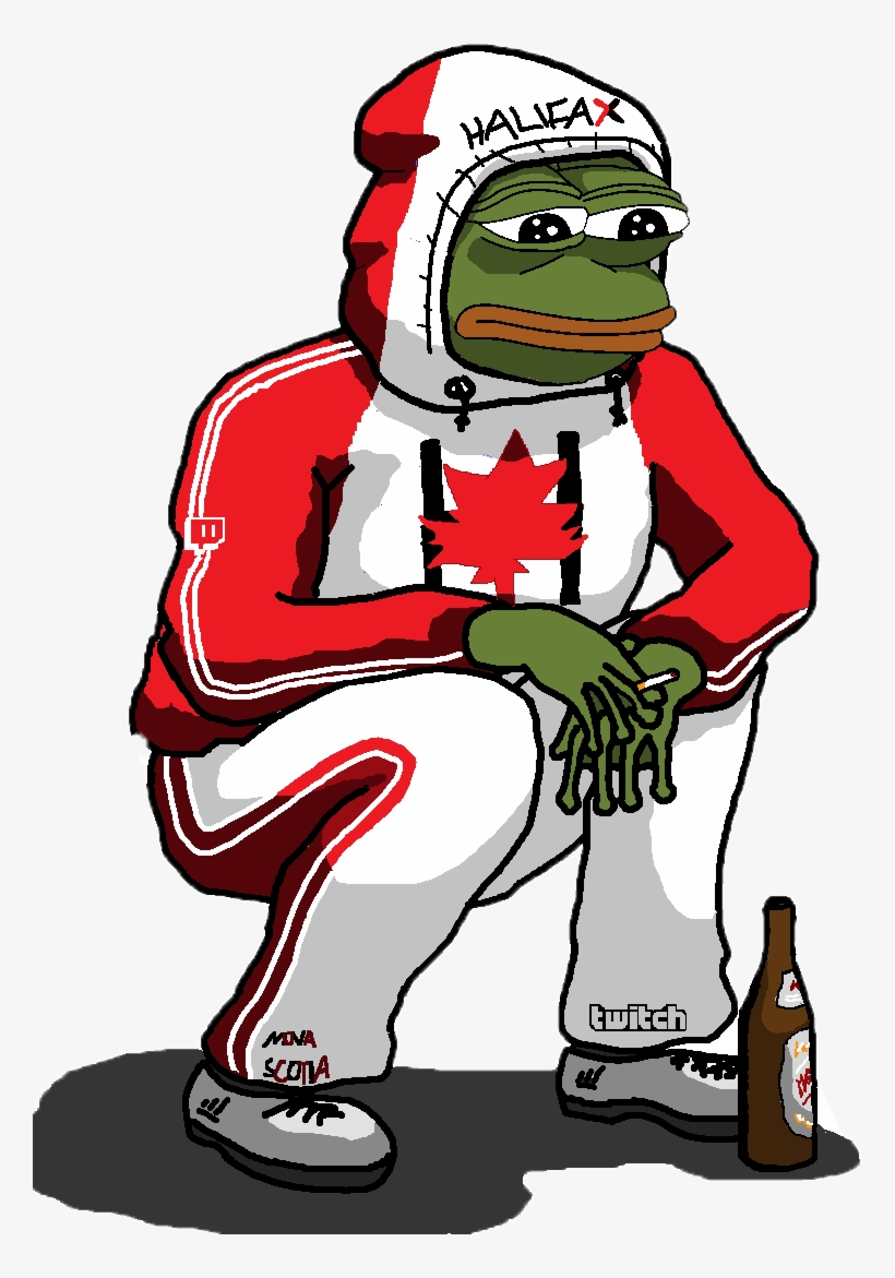 Feels Bad Frog Meme - Pepe The Frog Canada, transparent png #235655