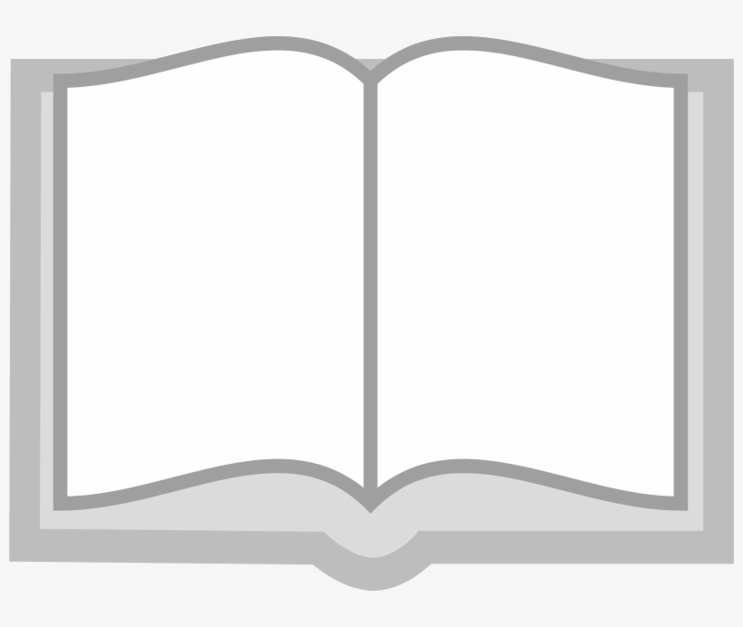 Open Book - Open Standing Book Png, transparent png #235745