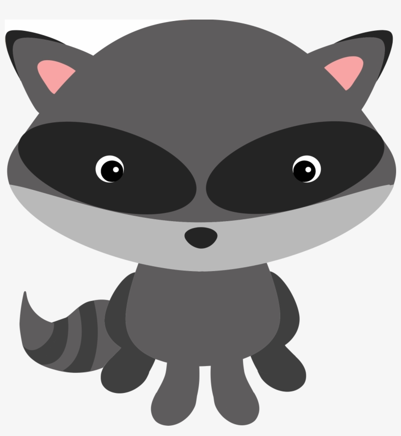 Raccoon T Woodland Animals Clipart Transparent Background Free