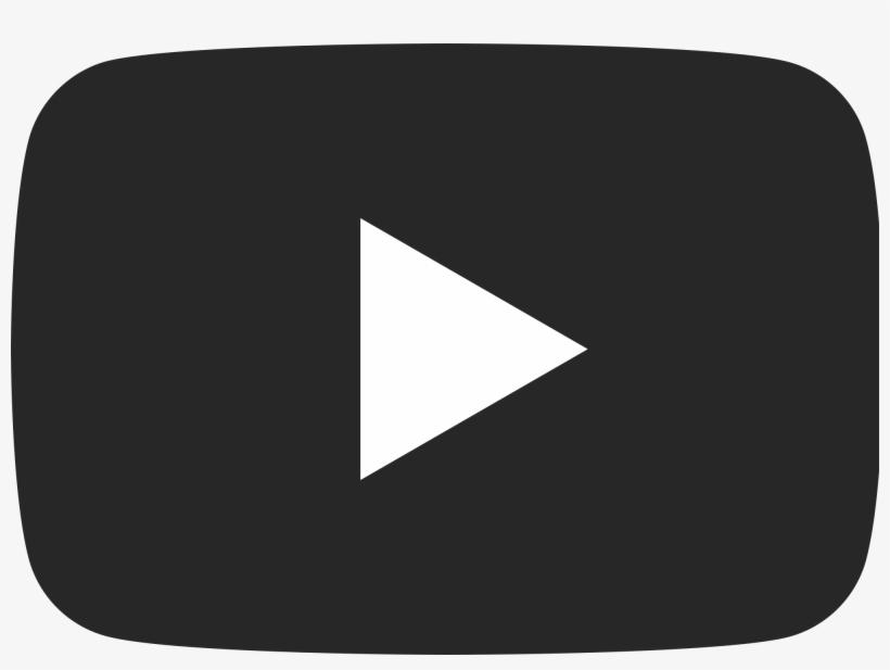 Youtube Free Download On Mbtskoudsalg Png Youtube Logo - Youtube Black Logo Png, transparent png #236793