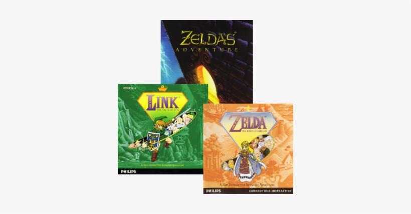 Video Game / The Legend Of Zelda Cd-i Games - Legend Of Zelda: The Wand Of Gamelon [cd], transparent png #237700