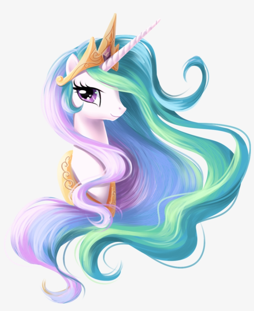 Unofficial My Little Pony And Mashup T - My Little Pony Unicorn Princess Celestia, transparent png #237856