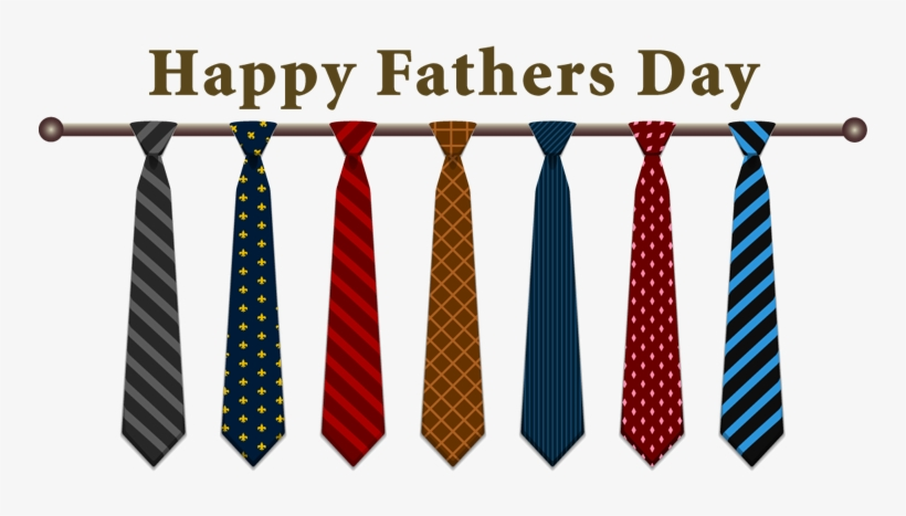 Transparent Png Fathers - Happy Fathers Day Ties, transparent png #237923