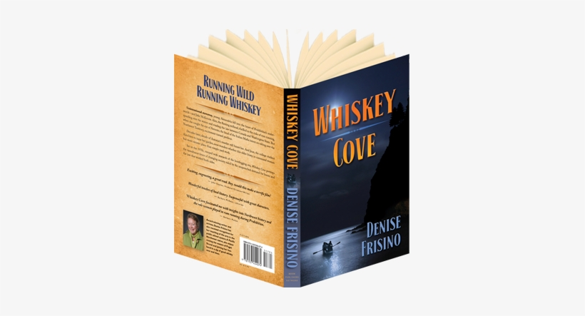 Whiskey Cove Book Open - Open Book Back Png, transparent png #238264
