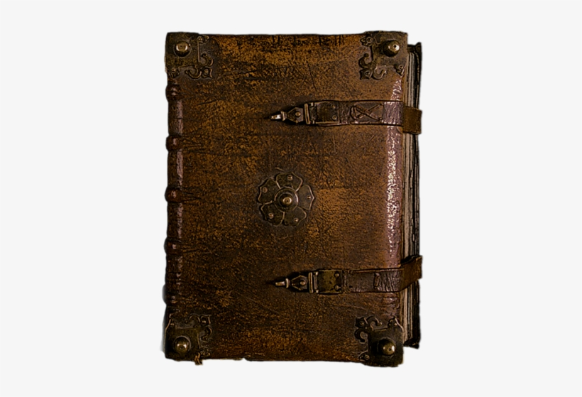Old Leather Bound Book, transparent png #239209