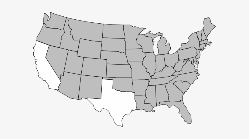 Usa Map Clip Art United States At Clker Vector Online - Us ...