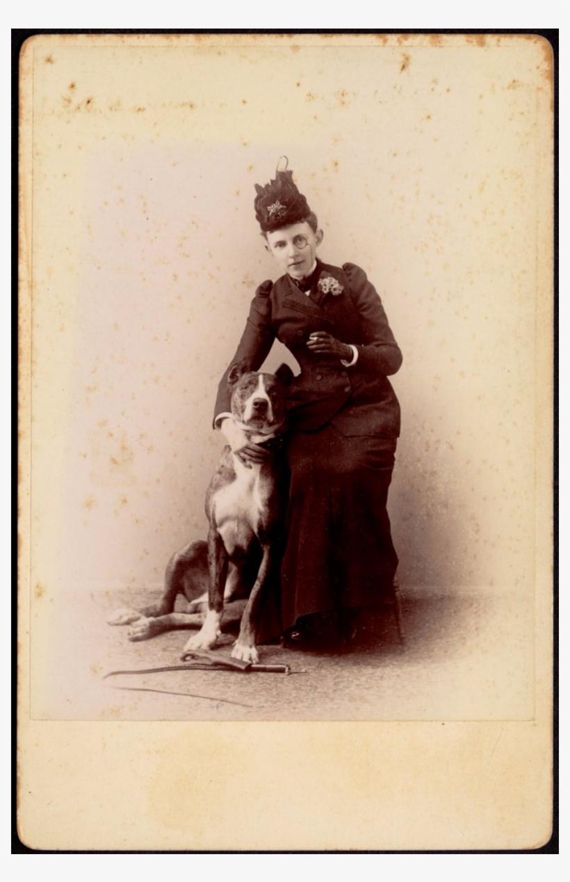Studio Portrait Of Unidentified Woman In Black Dress - Portrait, transparent png #239958