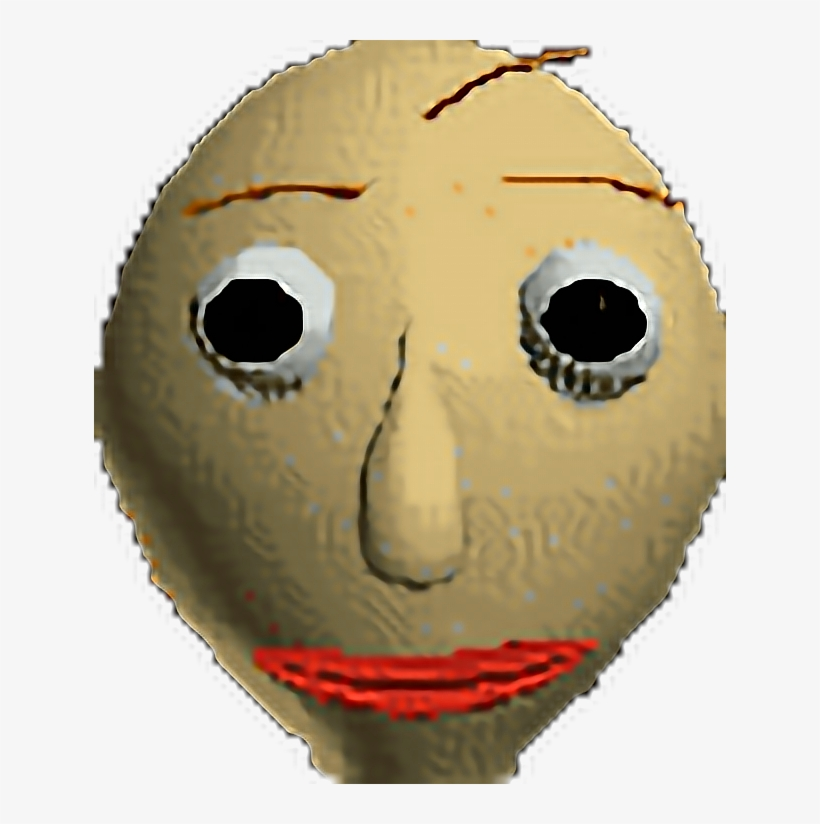 Baldi Basics Education Match Mask Face Emoji Happy Baldi Face Free Transparent Png Download Pngkey