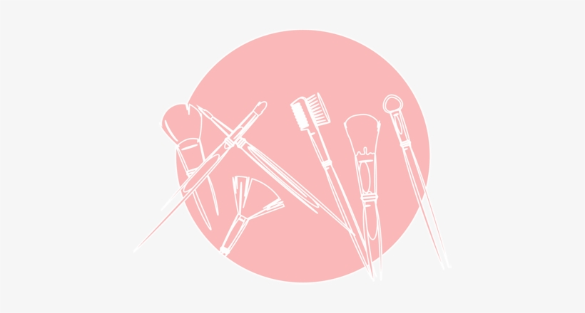 Make Up - Pink Make Up Icon Png, transparent png #2301402