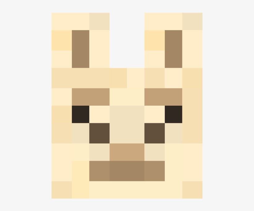 Characters - Minecraft Llama Face - Free Transparent PNG