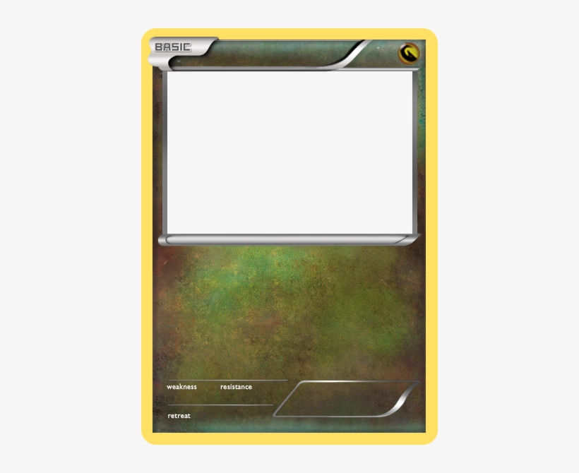 Blank Fire Pokemon Cards Card Ex Dragon Template Transpa