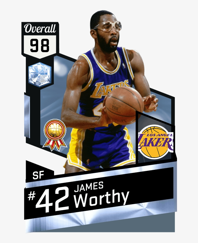 Diamond James Worthy And Ruby Chris Paul - Mike Conley In Nba 2k17, transparent png #2302657