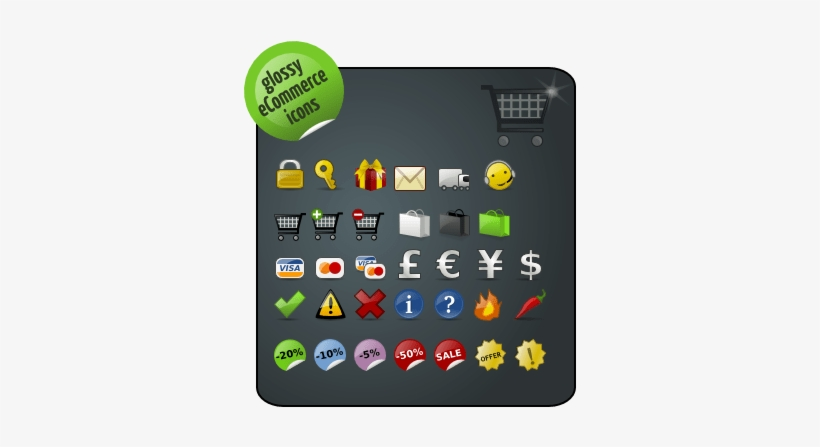 Icons Showcase - Color Ecommerce Icon Pack, transparent png #2304879
