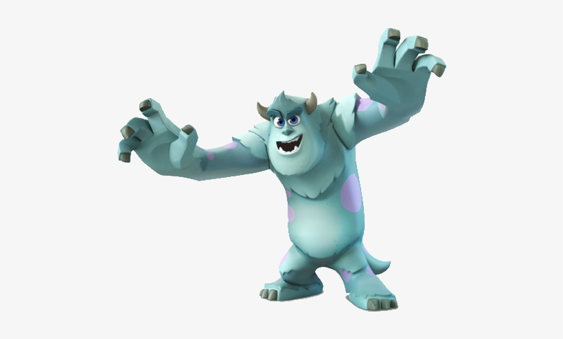 Sulley - Disney Infinity Monsters Inc Sulley - Free Transparent PNG ...