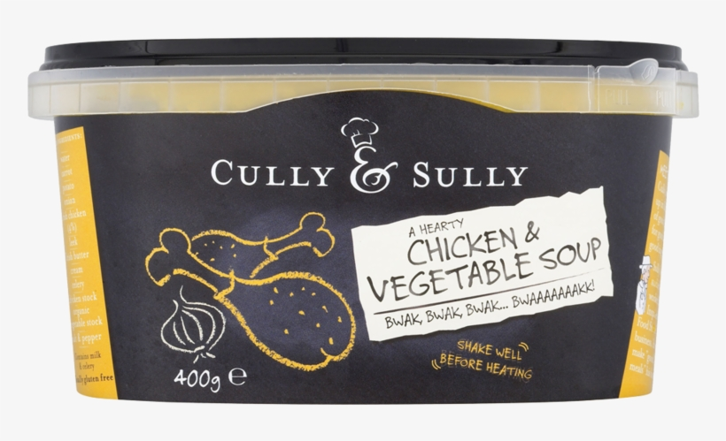 Cully Sully Chicken Vegetable Soup 400g - Cully And Sully Soup, transparent png #2305119