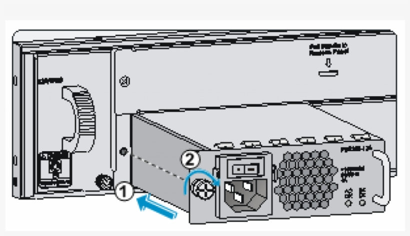 Uniview Psr300-12a Secondary Slot Power Sully For Nvr516