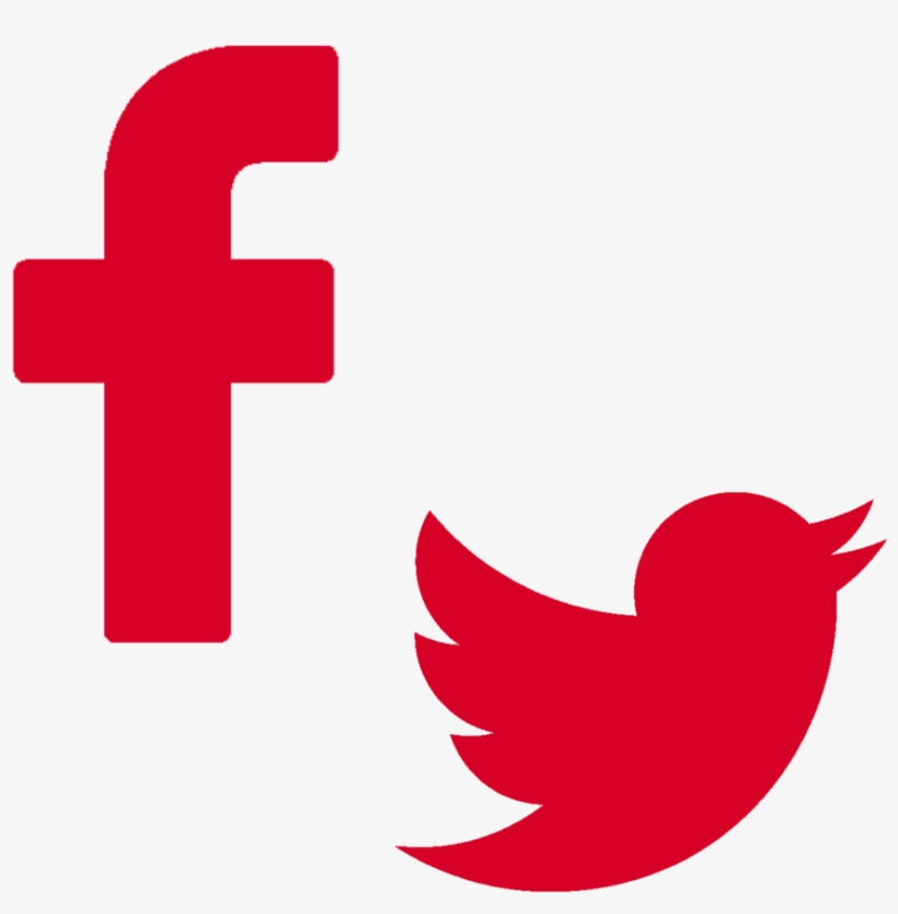 Follow Us On Facebook And Twitter - Twitter, transparent png #2306082