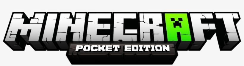 Minecraft Pe Green White Logo Minecraft Bedrock Edition Logo Free Transparent Png Download Pngkey