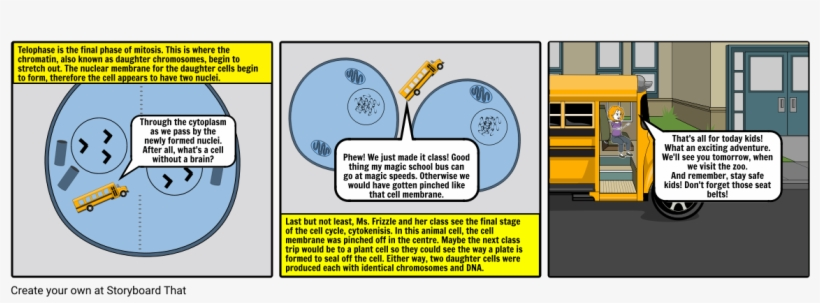 The Magic School Bus - Storyboard, transparent png #2309107