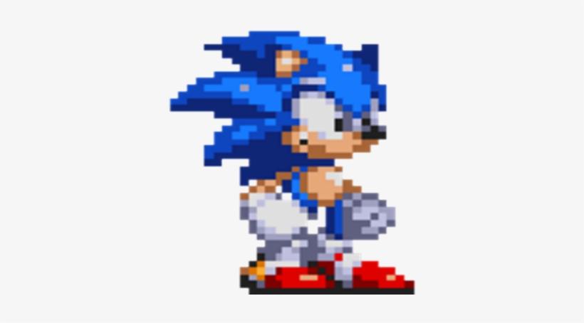 Classic Sonic Sprite - Sonic Mania Modern Sonic - Free Transparent
