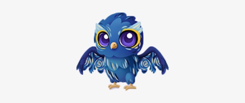 Starry Night Owl Baby - The Starry Night - Free Transparent