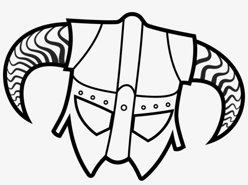 Skyrim Dragonborn Coloring Pages 5 By Brian