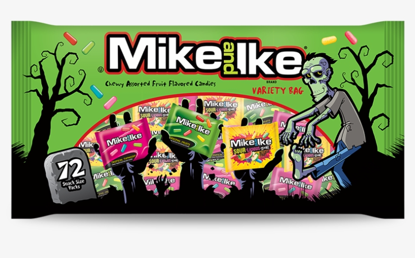 Hwnbag - Just Born Mike N Ikes: Original Fruits, transparent png #2312744