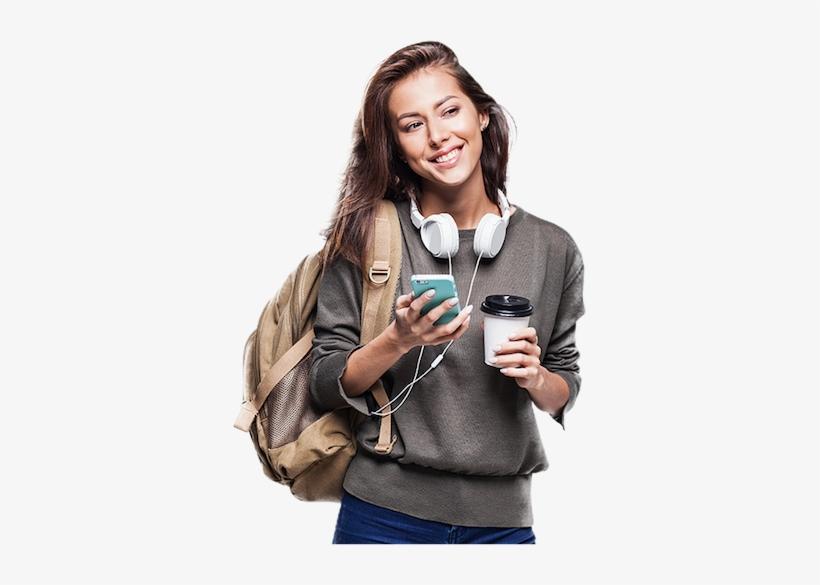Topo Modelo - Estudante Shutterstock - Free Transparent PNG