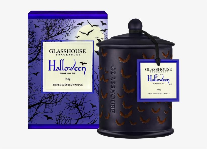 2018 Limited Edition Halloween Pumpkin Pie 350g Scented - Pumpkin Pie Glasshouse Candle, transparent png #2317933
