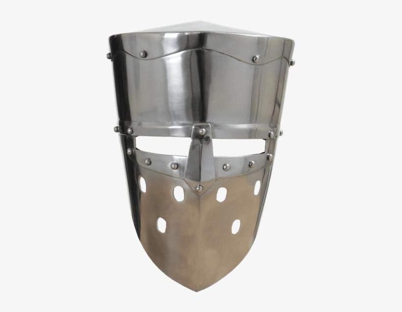 First Crusade Knight Helmet Transparent Free Transparent - dark knight helmet roblox