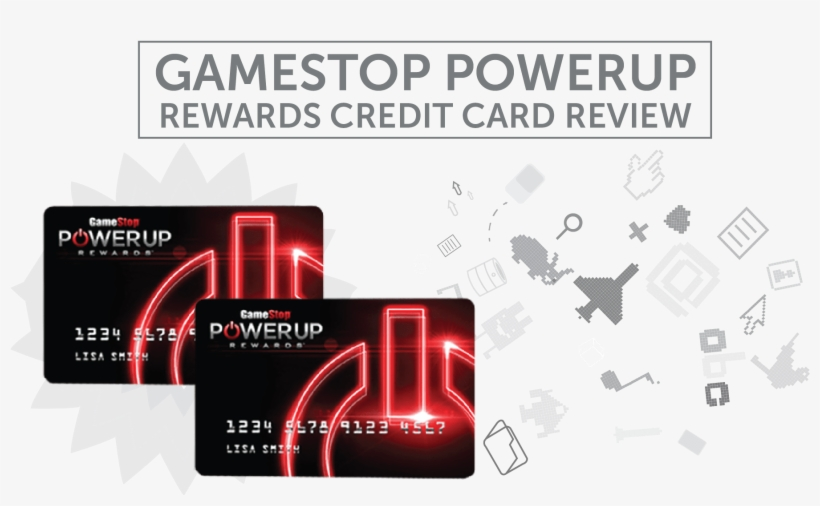 Find The Perfect Credit Card For You Tips - Gamestop Powerup Rewards Credit Card, transparent png #2321415