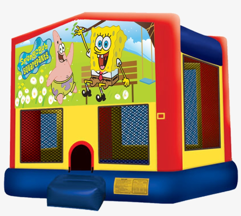 Sponge Bob Bounce House Rentals In Austin Texas From - Pj Mask Bounce House, transparent png #2322374