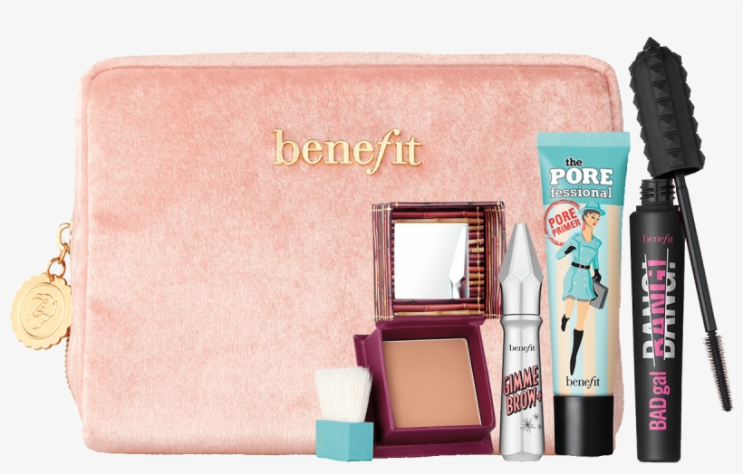 Sweeten Up Butter Cup - Benefit Cosmetics Sweeten Up Buttercup Makeup Set, transparent png #2323528