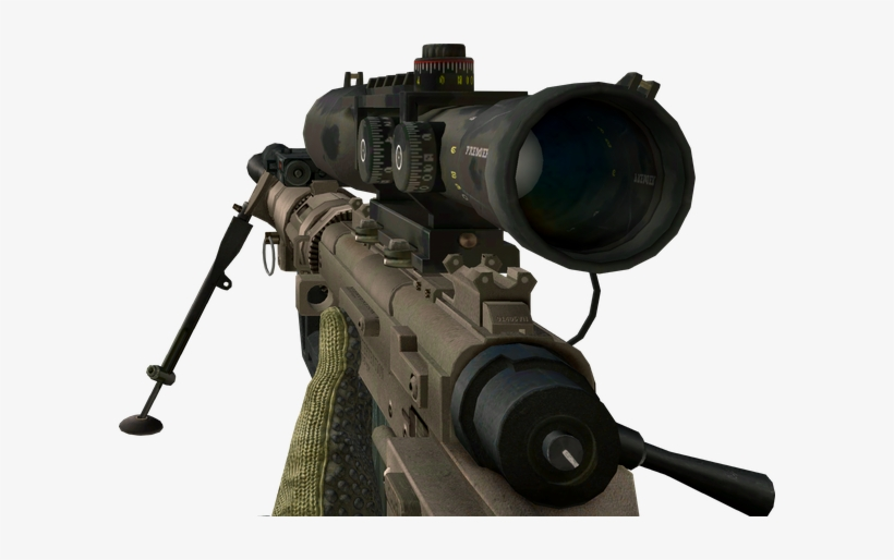 Cod Sniper Png - Duty Modern Warfare 2 Intervention, transparent png #2325452