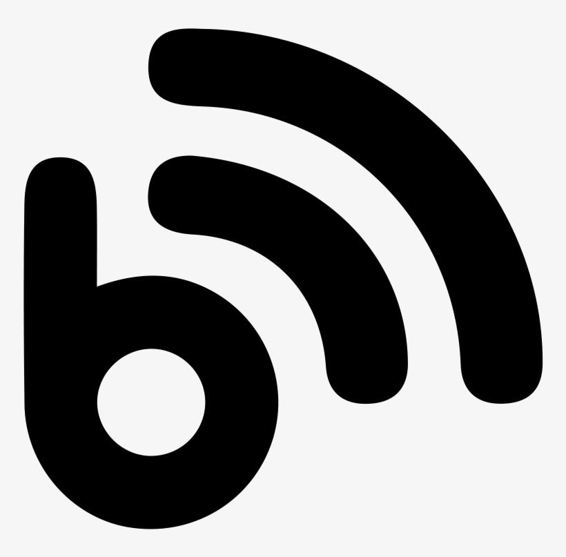 Blogger Logo Icons No Attribution - White Blog Icon Png - Free