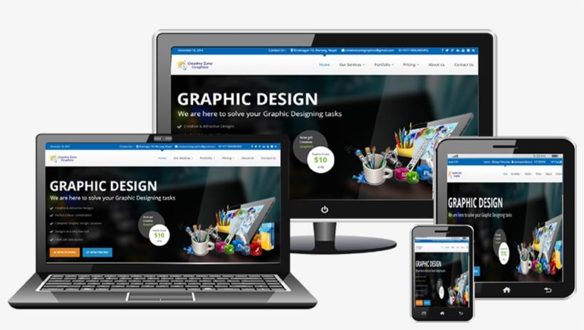 Website Design - Web Banner Design Png, transparent png #2330888