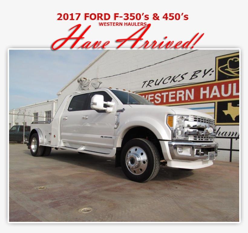 Western Hauler - Ford Trucks - Pickup Truck, transparent png #2333642
