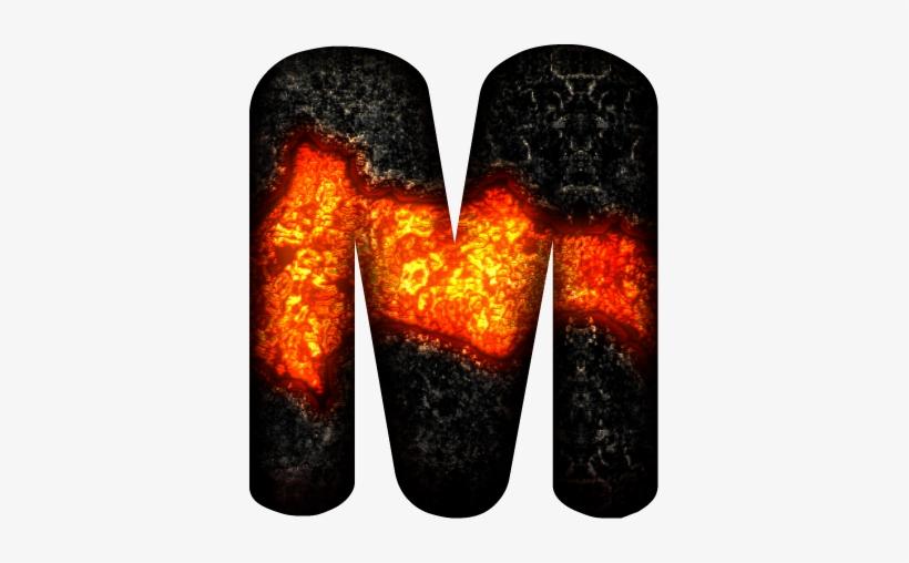 Alfabeto En Lava De Volcán - Alfabeto En Lava De Volcàn .png, transparent png #2334072